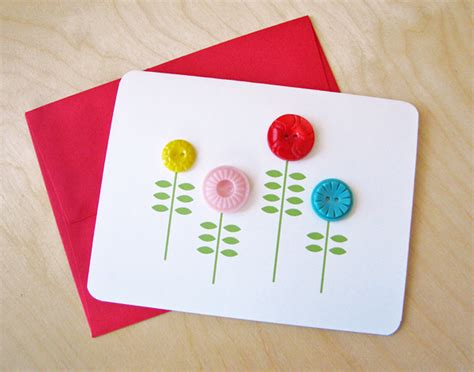 make cards simple notecard with buttons how about orange