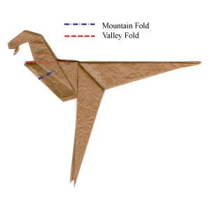 how to make an origami velociraptor how to make a simple origami velociraptor page 6