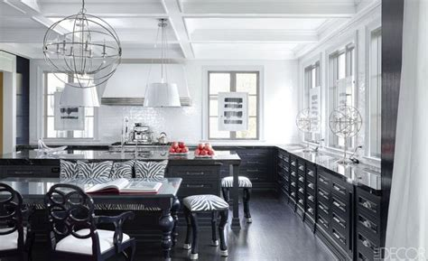 black and white kitchens 20 black and white kitchen design decor ideas