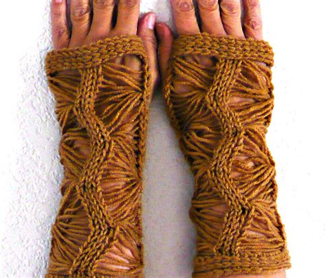knitted arm warmers knit fingerless gloves knit arm warmers knit fingerless