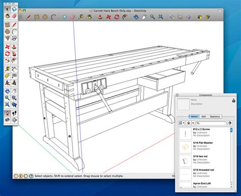 free woodworking software downloads how to use sketchup to get the most from a digital