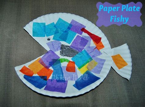 paper plate fish craft discover and save creative ideas
