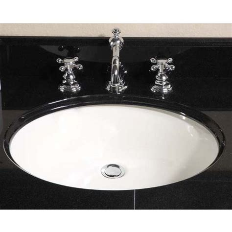 oval kitchen sinks kitchen sinks small oval undermount sink biscuit by