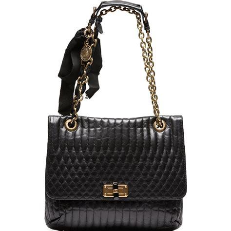black leather the shoulder bag black leather quilted shoulder bag shoulder bag
