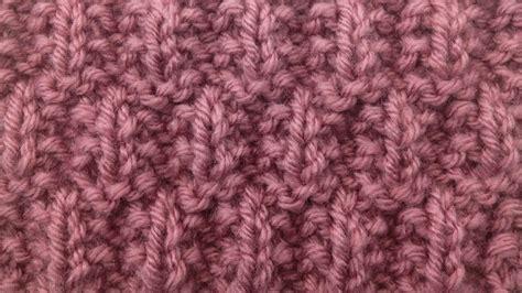 how to rib knit the seeded rib check stitch knitting stitch 79