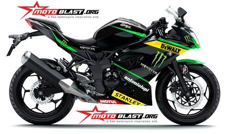250 Rr Mono Modification by Modif Striping Kawasaki Rr Mono Green Tech3 Motogp