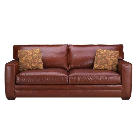 klaussner leather sofas klaussner homestead leather sofa darvin furniture sofa