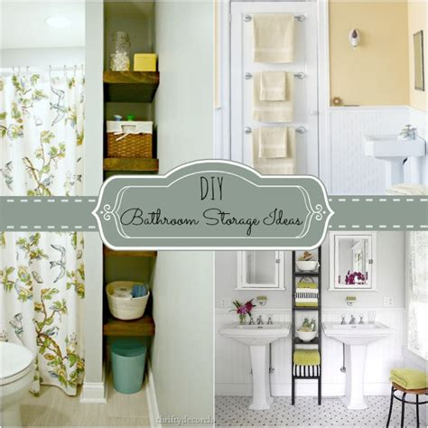 diy small bathroom ideas 4 tips to creating more bathroom storage home stories a to z