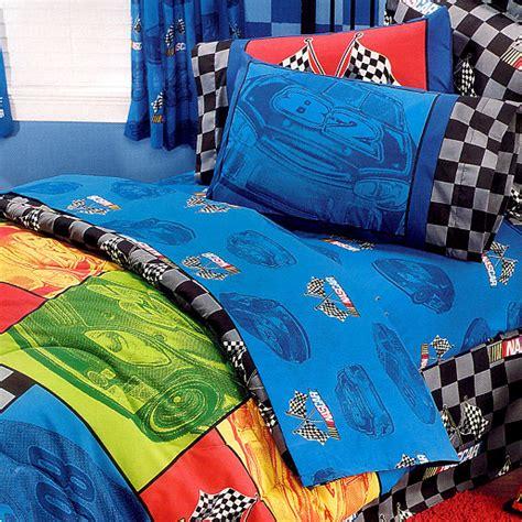 nascar bedding set nascar in the race sheet set
