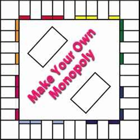 how to make cards for a board 6 best images of printable monopoly board and cards