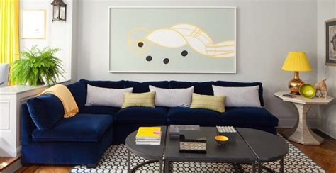 blue sofa in living room 10 colours to make your home the most fashionable one in 2017