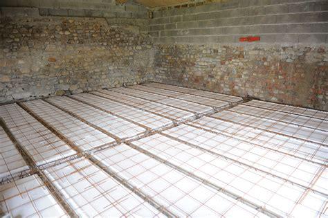 beton sur plancher bois palzon