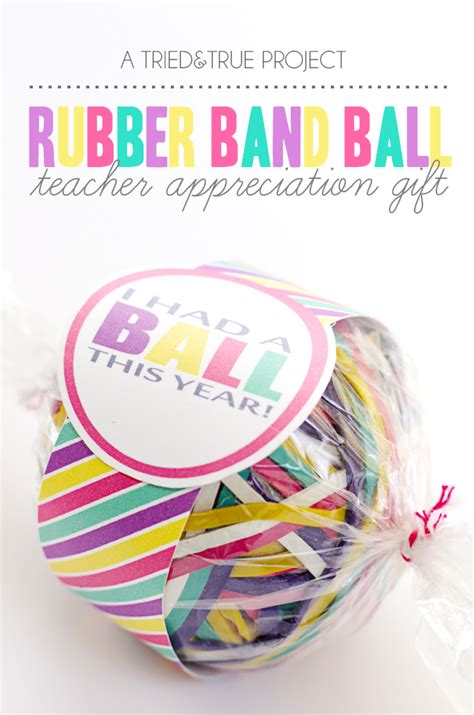 rubber sts for teachers free rubber band appreciation gift tried true