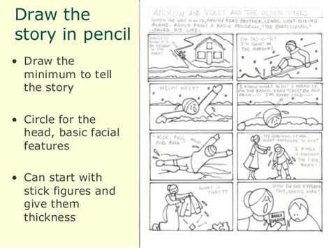 how to create a story how to make a comic book about your family stories