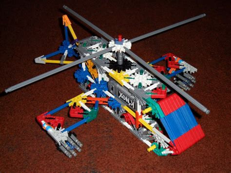 origami helicopter easy knex attack helicopter