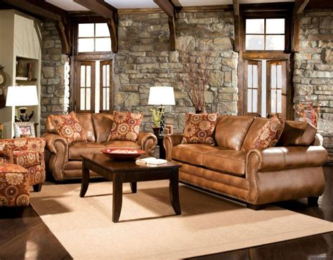 leather furniture for living room rustic dim brown leather sofas fantastic expense for warm