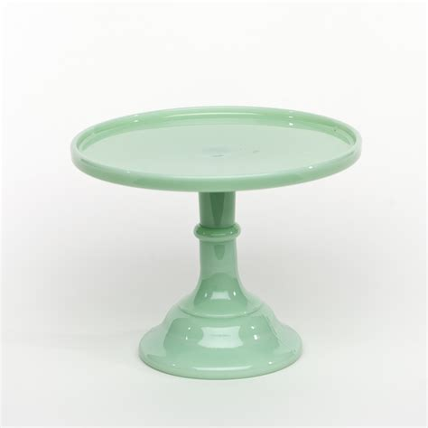 cake stand 9 quot jadeite antique cake stand sweet and saucy supply