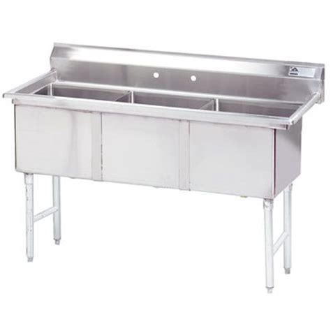 three compartment kitchen sink commercial kitchen sinks three compartment commercial