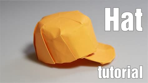 how to make an origami hat paper hat origami snapback tutorial diy henry phạm