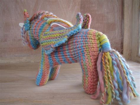 knitted unicorn you to see unicorn pegasus pattern on craftsy