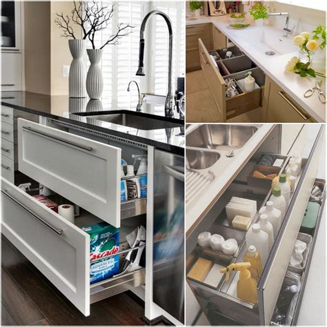 kitchen drawer designs sophisticated modern kitchen furnishing ideas with cool