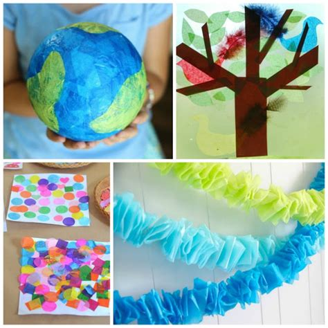 paper and glue crafts beautiful tissue paper crafts for what can we do