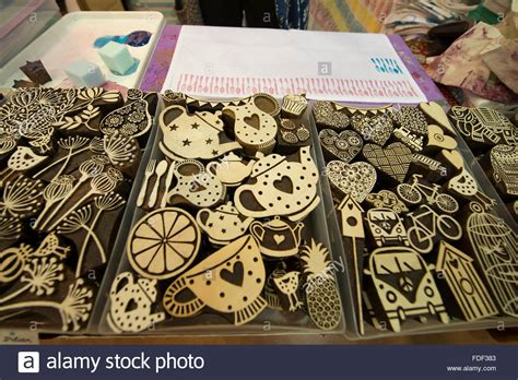 traditional crafts for surrey uk 31st january 2016 block craft stand selling