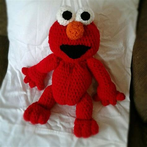 elmo knitting pattern 17 best images about knitted animals and other things on