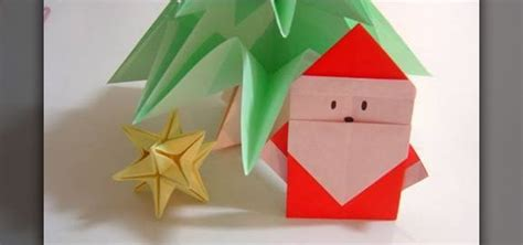 how to make a santa origami easy origami crafts