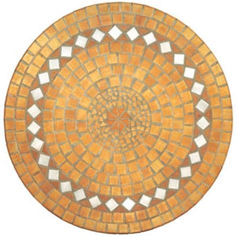 table ronde en mosa 239 que 90 cm
