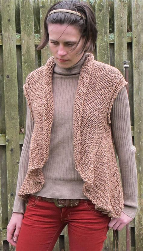knit patterns for vests in one one vest a pdf knitting pattern for a cardigan vest