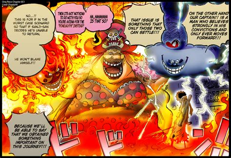 one digital colored one chapter 851 brook vs big color by theahj90
