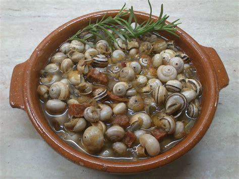 como cocinar los caracoles receta caracoles en salsa o caracoles de verano recetas
