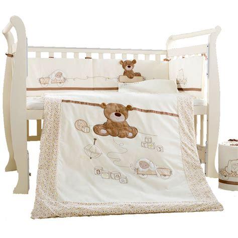 baby cot bed bedding sets 9pcs cotton baby cot bedding set newborn crib bedding