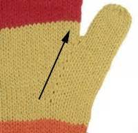 knitting the gusset how to knit thumb and palm gussets for your knitted gloves
