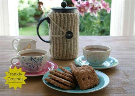 coffee pot cosy knitting pattern coffee pot cosy tutorial frankly crochet tejidos