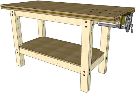 workbench plans workbench 045 3d woodworking plans