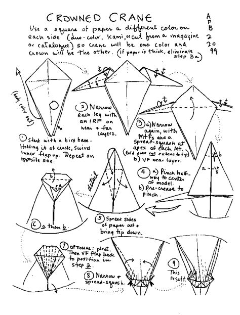 how to build an origami crane how to make origami bird with paper found here info