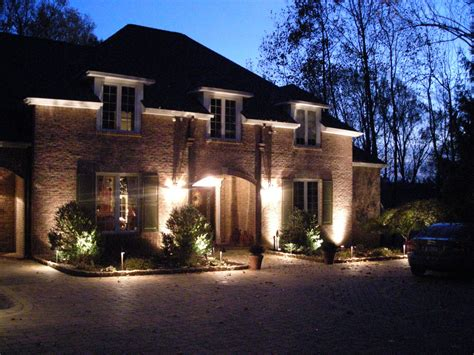 landscape lighting ideas inviting serene outdoor atmosphere amaza design