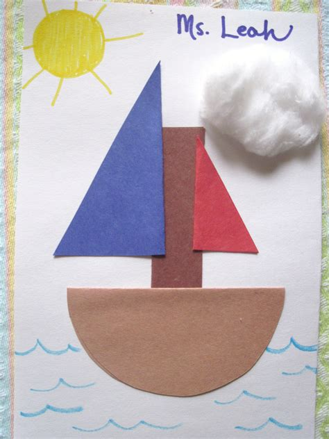 boat crafts for boats sunflower storytime