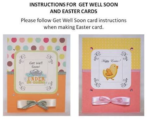 how to make get well cards get well soon card idea and exles of other handmade cards