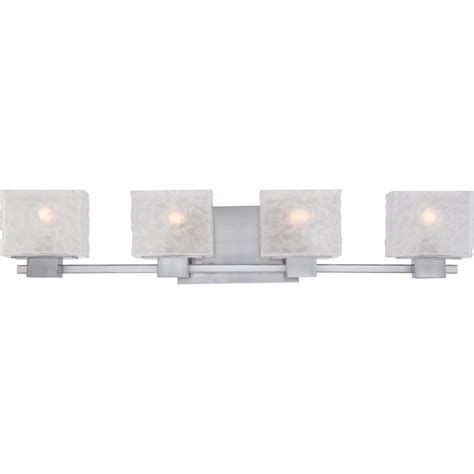4 light bathroom vanity fixture quoizel mld8604bn melody contemporary brushed nickel