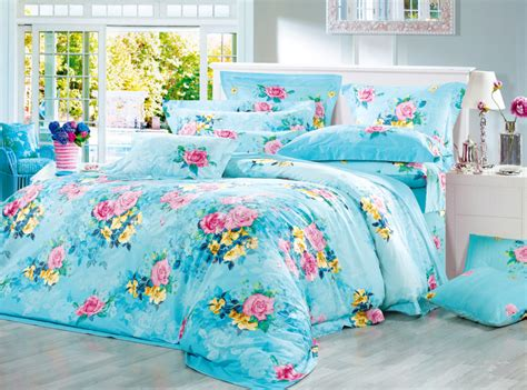 bright bedding do you like the bright flower luxury bedding sets