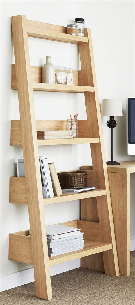 leaning ladder shelves 25 best ideas about leaning shelves on