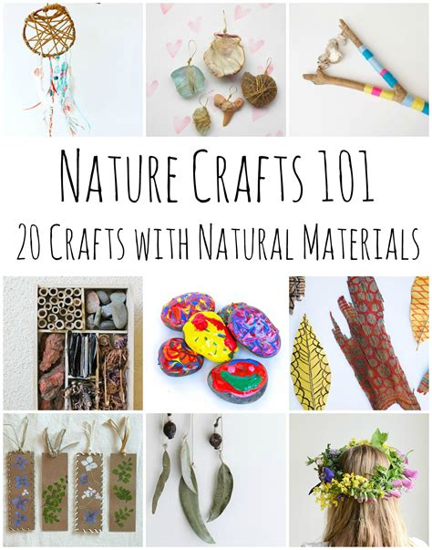 nature craft ideas for nature crafts 101 20 stunning crafts using items found