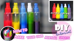 spray paint how to diy how to make your own acrylic spray paint