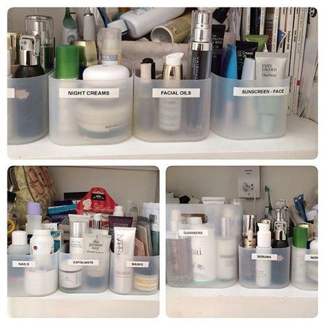 acrylic bathroom storage best 20 muji storage ideas on