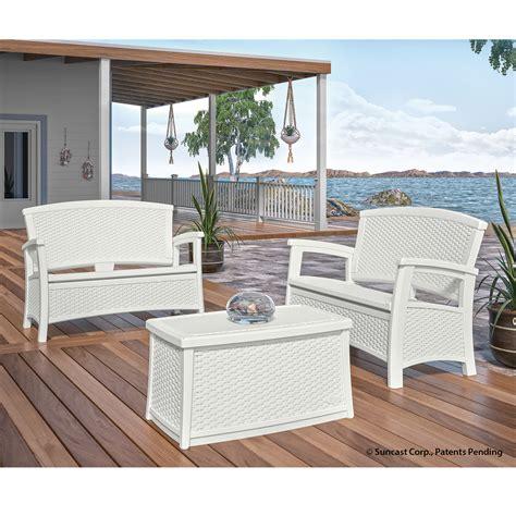 suncast patio furniture suncast outdoor furniture kmart