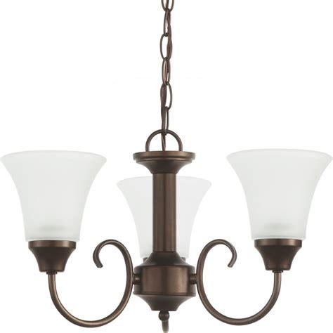 chandelier 3 light sea gull lighting 3 light bell metal bronze chandelier