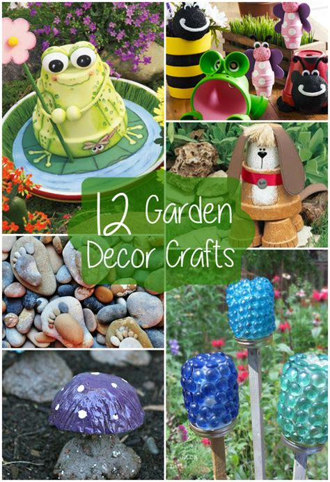 decorations and crafts 12 garden decor crafts the craftiest